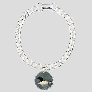 9x7 4 Charm Bracelet, One Charm