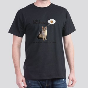 Hannukah Dreidel Cat Dark T-Shirt