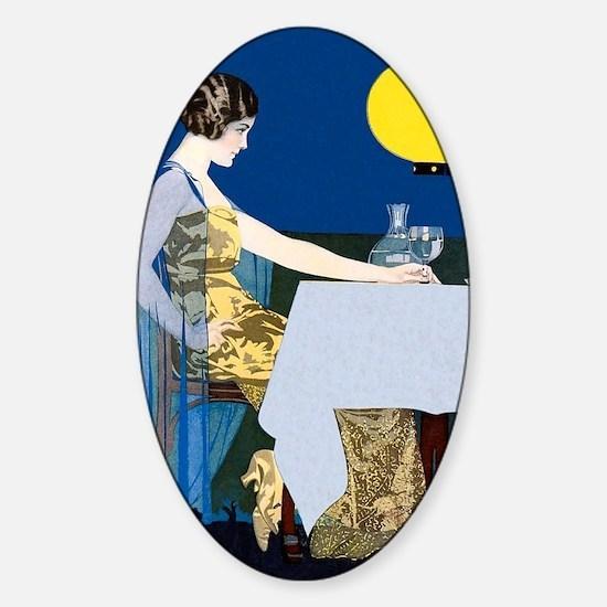GOOD HOUSEKEEPING, JUNE, 1917 Sticker (Oval)