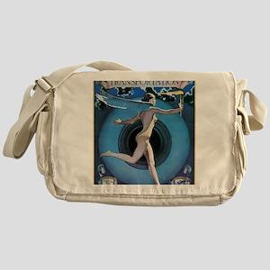 THE SPIRIT OF TRANSPORTATION, N.D Messenger Bag