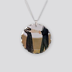 UNTITLED (11) Necklace Circle Charm