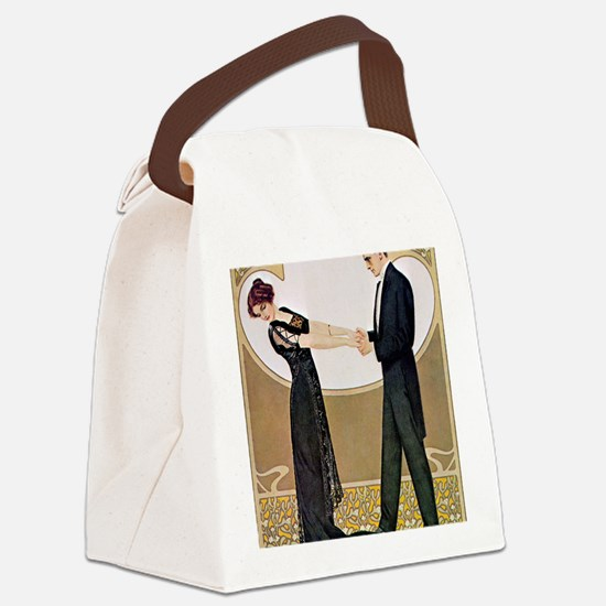 UNTITLED (11) Canvas Lunch Bag