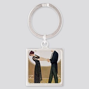 UNTITLED (11) Square Keychain