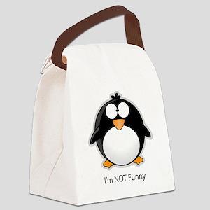 penguine Canvas Lunch Bag