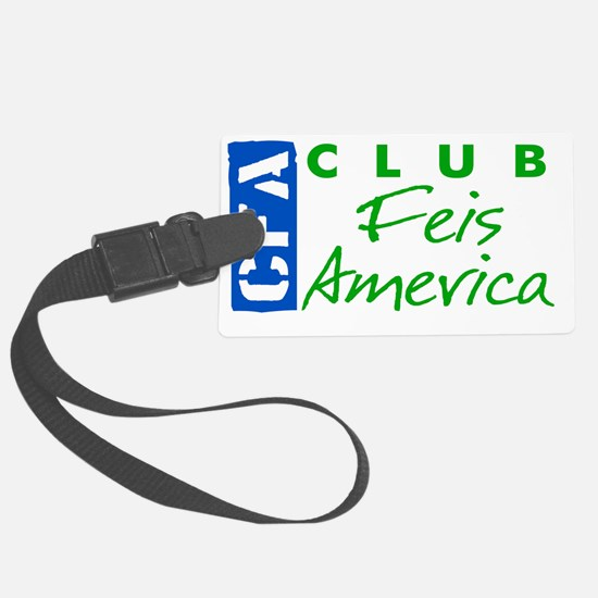 CFA Logo V12 2colorB Luggage Tag