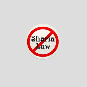 no-sharia-law Mini Button