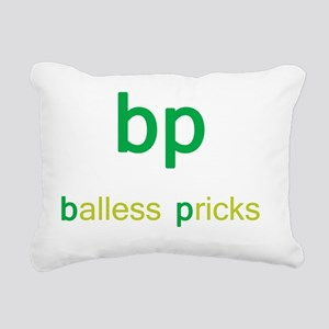 bp Rectangular Canvas Pillow