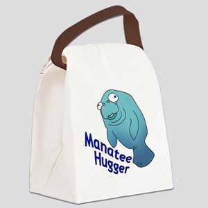 2-manatee2-small Canvas Lunch Bag