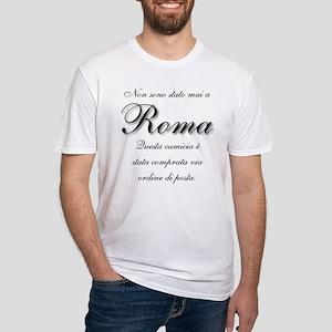 Italian Souvenir Fitted T-Shirt