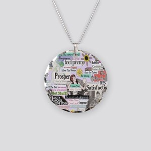 abuse13x13reg Necklace Circle Charm