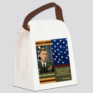 McChrystal_US_Hero_12x10 Canvas Lunch Bag