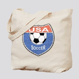 USA Soccer Shield 1 Tote Bag