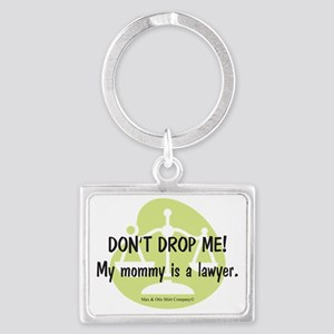 2-lawyer-mommy Landscape Keychain