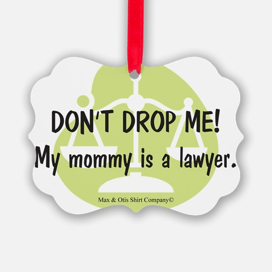 2-lawyer-mommy Ornament