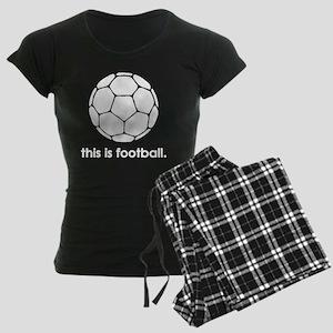 This Is Football Women's Dark Pajamas