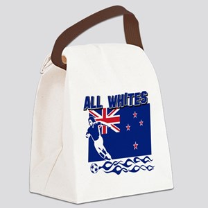 newzealand_player Canvas Lunch Bag