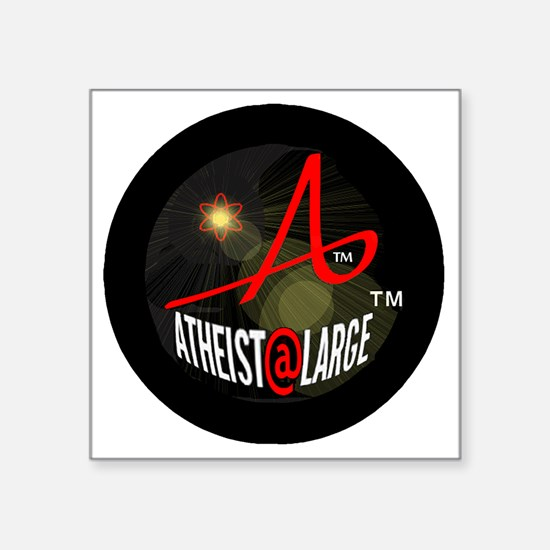 "aalbright-transparent Square Sticker 3"" x 3"""