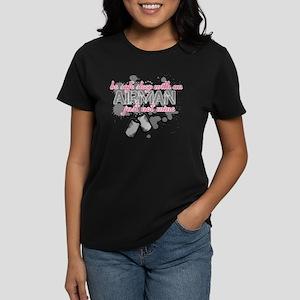 Be safe sleep with an Airman Women's Dark T-Shirt