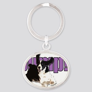 JumpSpringers Oval Keychain