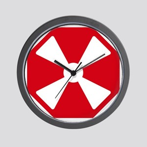 eight_army_patch Wall Clock