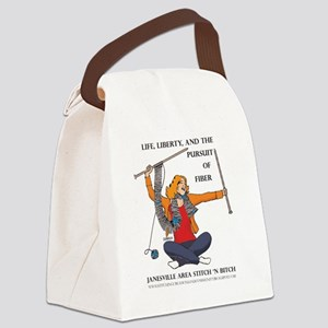 ShirtLogoTransparent Canvas Lunch Bag