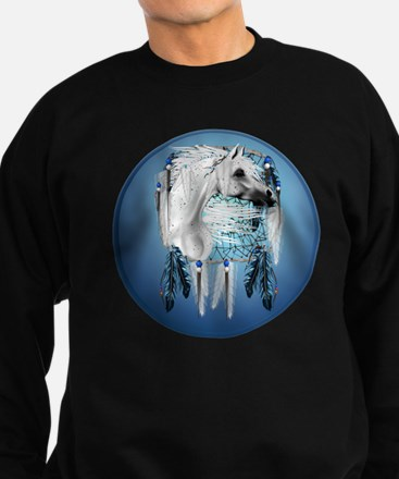 AppaloosaDreamcatcherTransCircle Sweatshirt (dark)