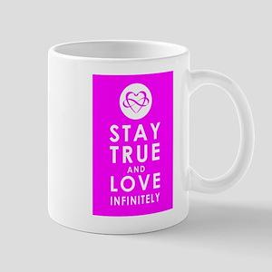 INFINITE LOVE Fierce Fuchsia Mug