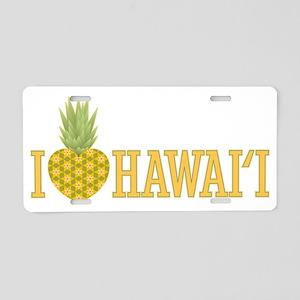 74_Pineapple_Hawaii Aluminum License Plate