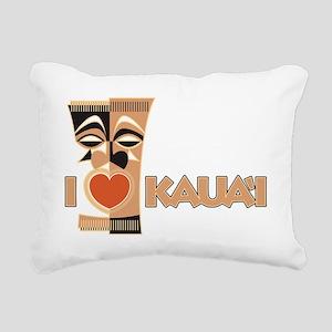 74_Tiki_Kauai Rectangular Canvas Pillow