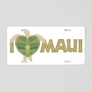 74_Turtle_Maui Aluminum License Plate