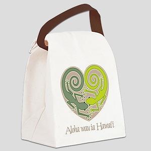 74_Gecko Canvas Lunch Bag