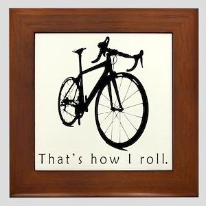 biket Framed Tile