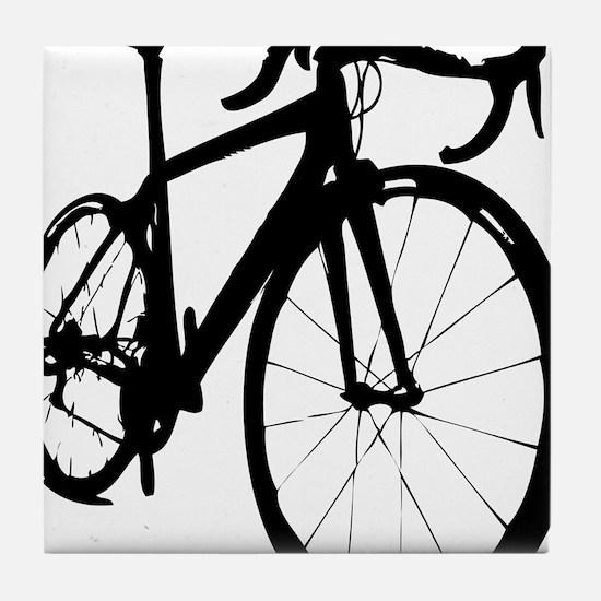 bikeonespeed Tile Coaster