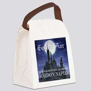 2-Gothic_Castle for broad calcov Canvas Lunch Bag