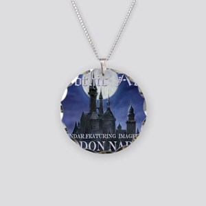 2-Gothic_Castle for broad ca Necklace Circle Charm