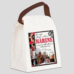 Matts Custom Pillow Canvas Lunch Bag