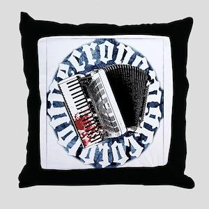 Necronomaccordion Throw Pillow