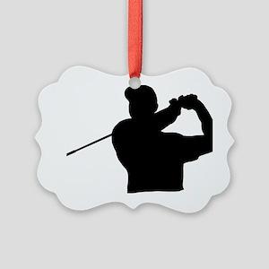 Golfer 02 Picture Ornament