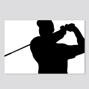 Golfer 02 Postcards (Package of 8)