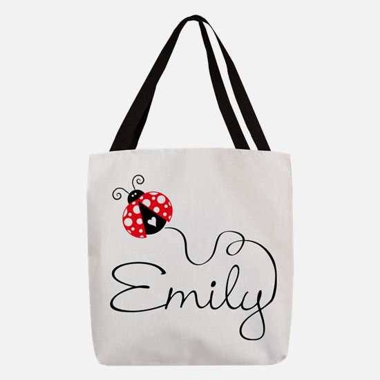 Ladybug Emily Polyester Tote Bag