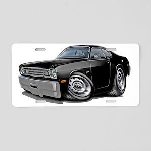 1970-74 Duster Black Car Aluminum License Plate
