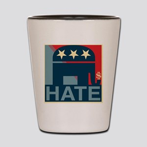 Hate-Gop Shot Glass