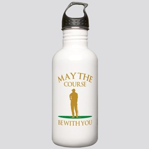 May The Course Be With Stainless Water Bottle 1.0L