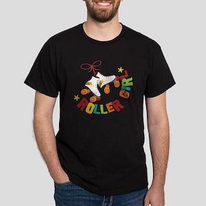 Roller Skate Girl Dark T-Shirt