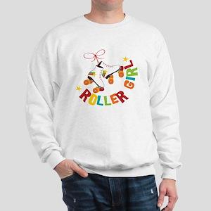 Roller Skate Girl Sweatshirt