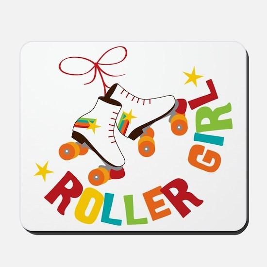 Roller Skate Girl Mousepad