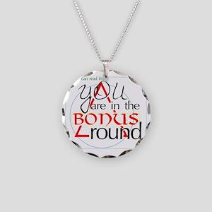 Bonus ROUND FINEline Necklace Circle Charm