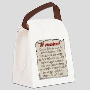 28thAmend Canvas Lunch Bag