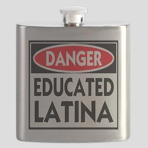 DANGER EDUCATED -- T-Shirt Flask