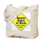 Master Baker-Bun in Oven (2-Sided) Tote Bag